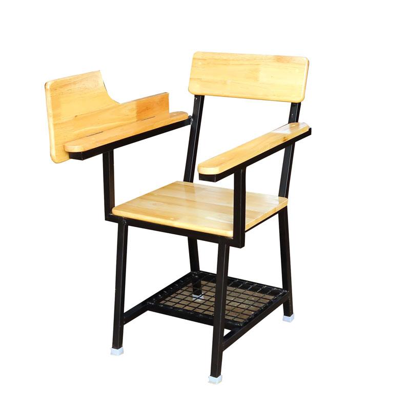 Seminar Hall Chair with Writtig Pad