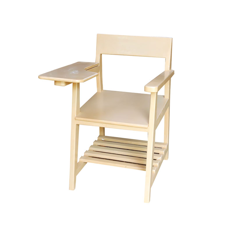Chair with Writing Pad