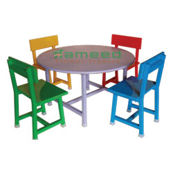 32 Inch Round Table & Chair