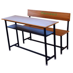 4 Ft Desk WBR CRS & Bench