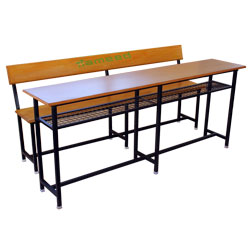6 Ft Desk WBR WM & Bench